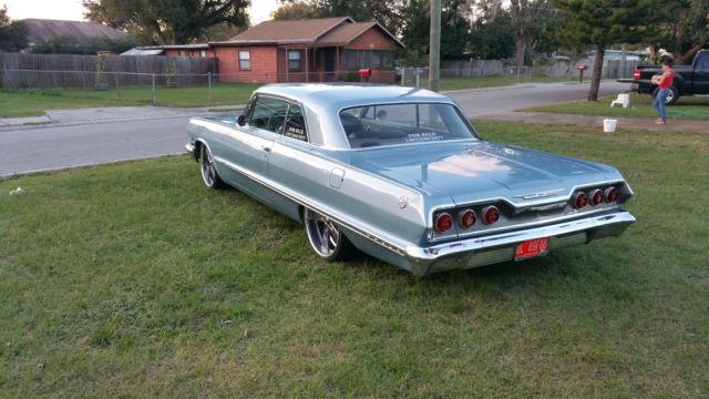 1963 impala sport coupe frame off restoration resto mod. Black Bedroom Furniture Sets. Home Design Ideas