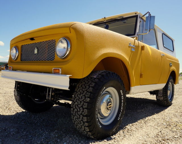 1963 International Scout 80/800 4x4  Extremely Rare