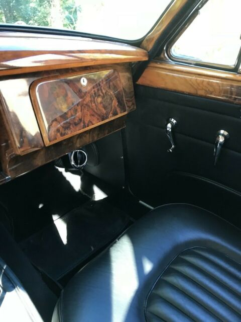 1963 Gold Jaguar Mk 2 3.8 Sedan with Black interior