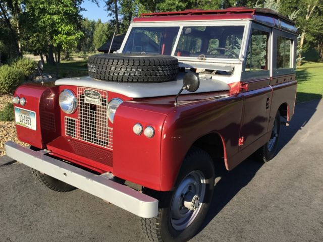 1963 Land Rover Series 11A model 88