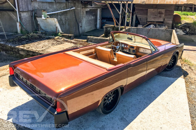 1963 lincoln continental choptop convertible custom suicide ride for sale photos technical. Black Bedroom Furniture Sets. Home Design Ideas