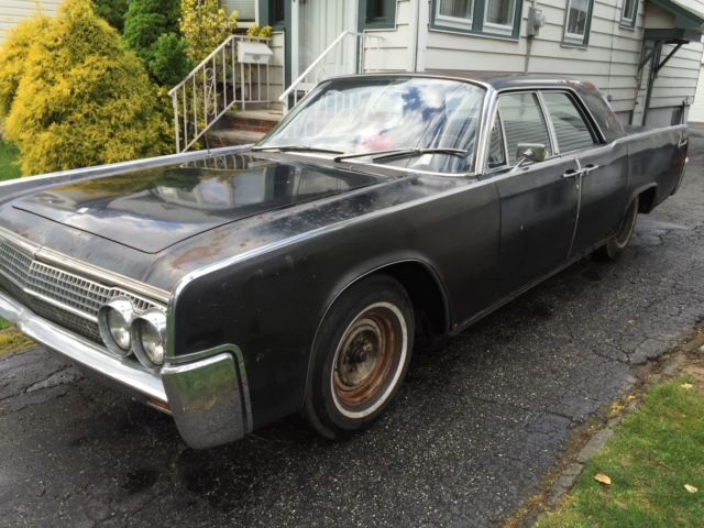 1963 Lincoln Continental Runner Driver For Sale Photos Technical