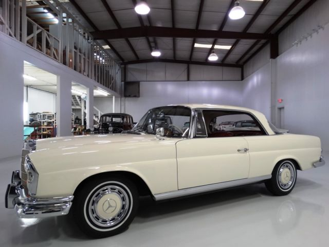 1963 Mercedes-Benz 200-Series SE Opera Coupe, ONLY 28,102 ACTUAL MILES!