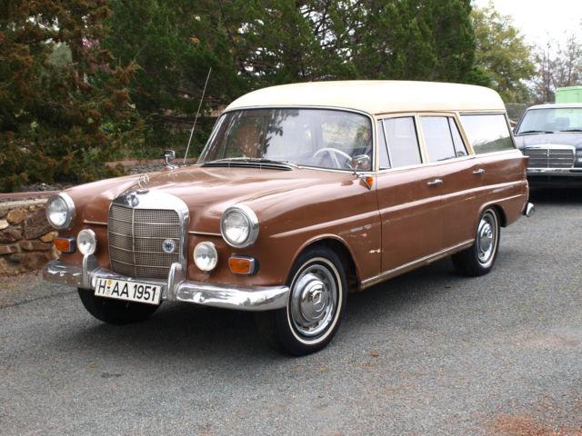 1963 mercedes benz 190d binz coachbuilt fintail station wagon kombiwagen for sale photos. Black Bedroom Furniture Sets. Home Design Ideas