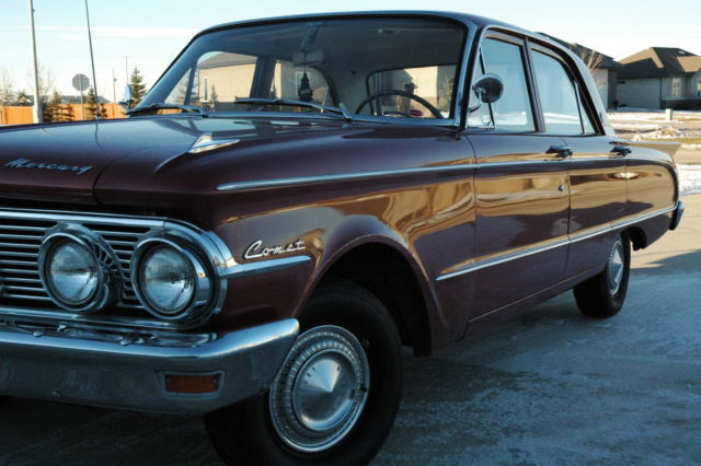 1963 Mercury Comet 4 door sedan