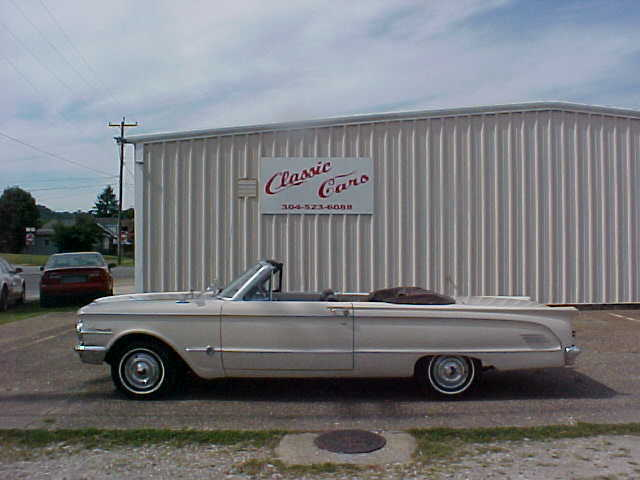1963 Mercury Comet S-22   CONVERTIBLE