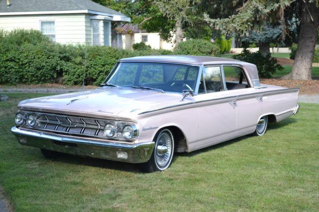 1963 Mercury Monterey Breezeway 6 4L for sale: photos