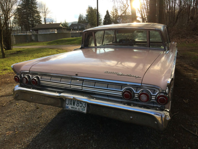 1963 Mercury Monterey Custom 64l 2d Htp Pink Lustrefrost Original One Family 4: 1963 Mercury Monterey Fuse Box At Freddryer.co