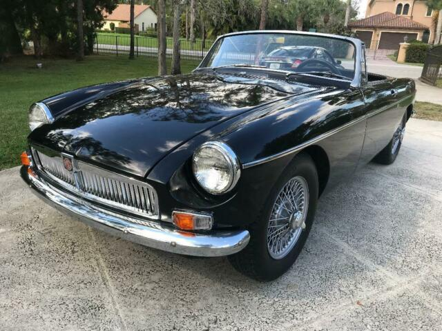 1963 Mgb Convertible First Year Of Import No Reserve