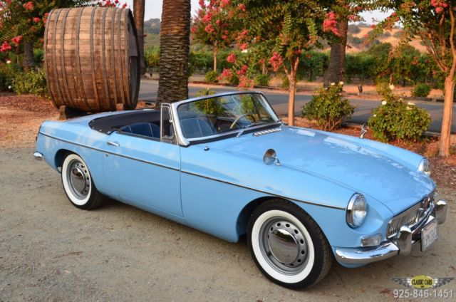 "1963 MG MGB RESTORED CA. ""B"""