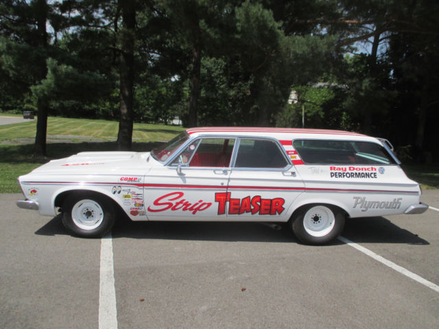 1963 Plymouth Fury Drag Wagon