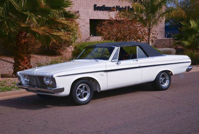 1963 Plymouth Fury Max Wedge