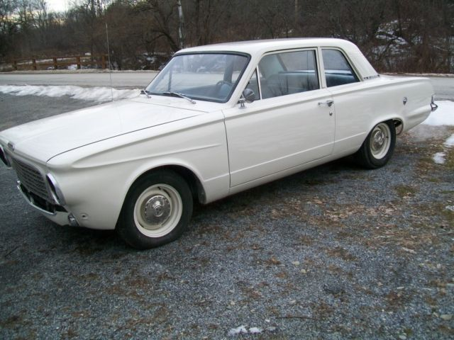1963 Plymouth Valiant 2dr post west coast car rust free 225 6