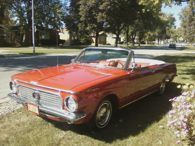 1963 plymouth valiant signet convertible 225 slant 6 for sale photos technical specifications. Black Bedroom Furniture Sets. Home Design Ideas