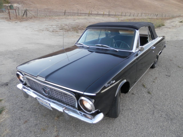 1963 Plymouth Valiant Signet 200 convertable