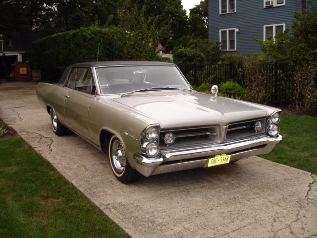 1963 PONTIAC GRAND PRIX - 389CI-  AUTOMATIC - 8 LUG RIMS - 2 OWNER CAR