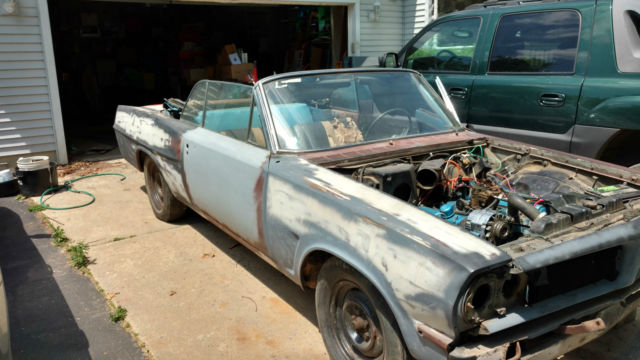 Pontiac Tempest Convertible Project With Parts Car on 1961 Corvair Convertible