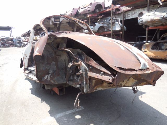 1963 Porsche 356 1963 Porsche 356 B S-90 Coupe Project Car for Rest