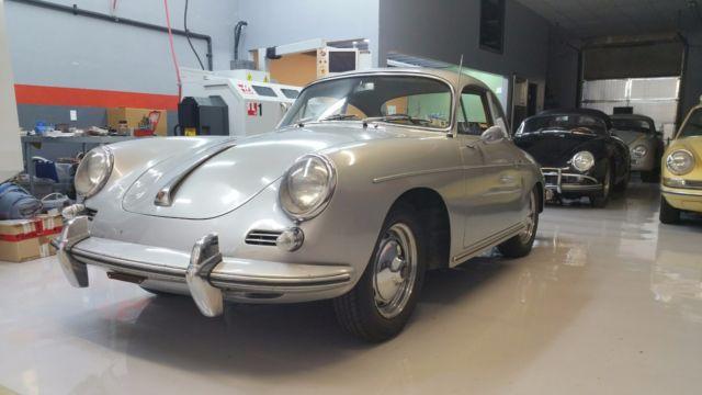 1963 Porsche 356 Super Coupe