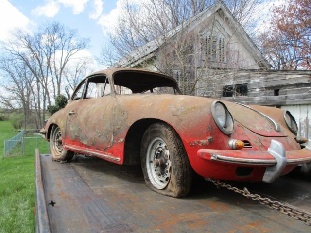 1963 Porsche 356 body by karmann
