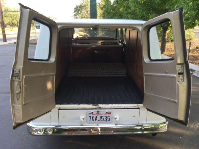 1963 Rare Chevrolet Van Camper Corvair Corvan Greenbrier