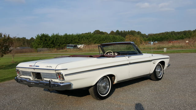 1963 Plymouth Fury SPORT FURY 383 CONVERTIBLE