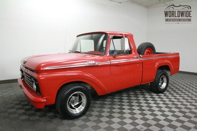 1963 Ford F-100 400 V8 AUTO SHORTBED!