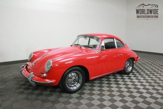 1963 Porsche 356 RESTORED. SUPER 90 1600CC! 4-SPEED MANUAL!