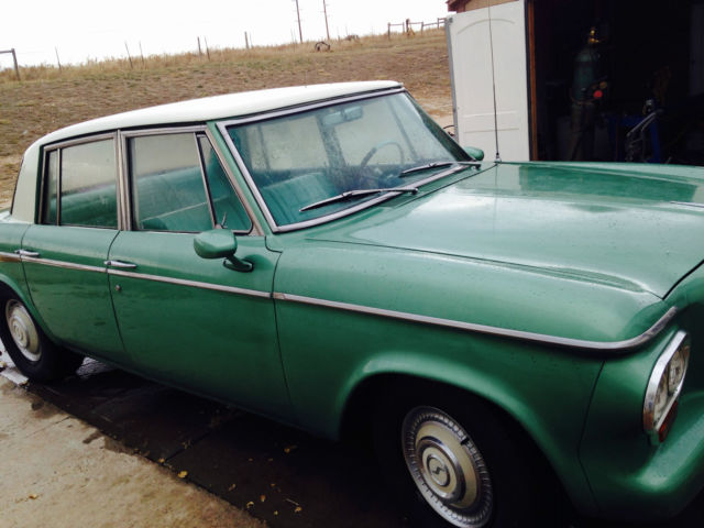 1963 Studebaker Lark 4 Door Beautiful Classic Car For Sale Photos Technical