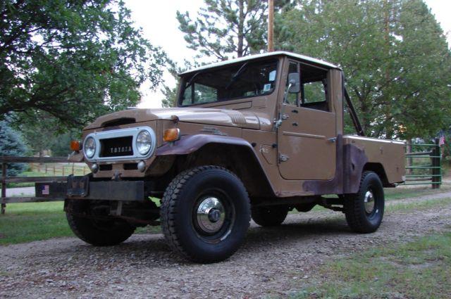 1963 Toyota FJ45 Short box truck  Ultra Rare US Model  Sold