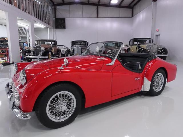 1963 Triumph Other TR3B Late Series Roadster, MATCHING #S 2.2L ENGINE