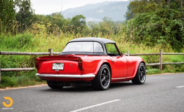 1963 Triumph Tr4 66l V8 With 480hp Dry Sump Hot Rod Roadster