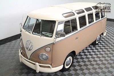 1963 Volkswagen Other ULTRA RARE WALK THOUGH 23 WINDOW! RESTORED RARE!!