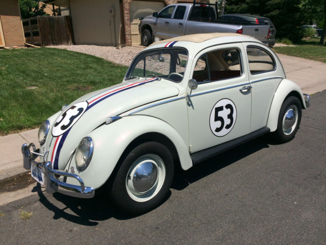 1963 VW Beetle Herbie Fully Animatronic Volkswagen Love Bug Movie Car for sale: photos ...