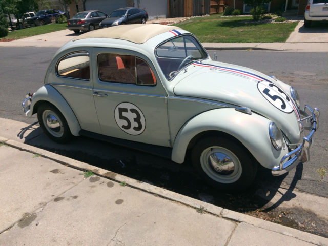 1963 vw beetle herbie fully animatronic volkswagen love bug movie car for sale photos. Black Bedroom Furniture Sets. Home Design Ideas