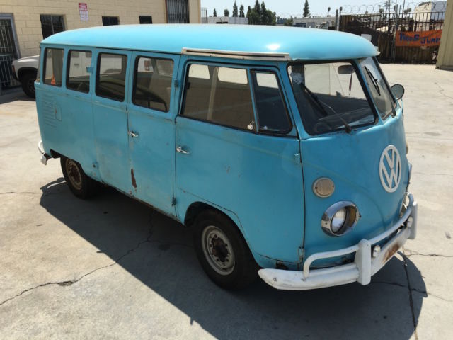1963 vw bus 15 windows for sale in los angeles ca for sale