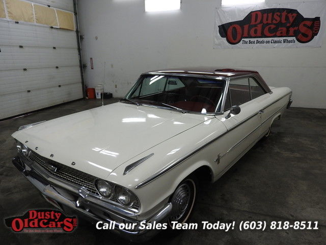 1963 Ford Galaxie Runs Drives Body Inter VGood 289V8 Auto Cruise Now