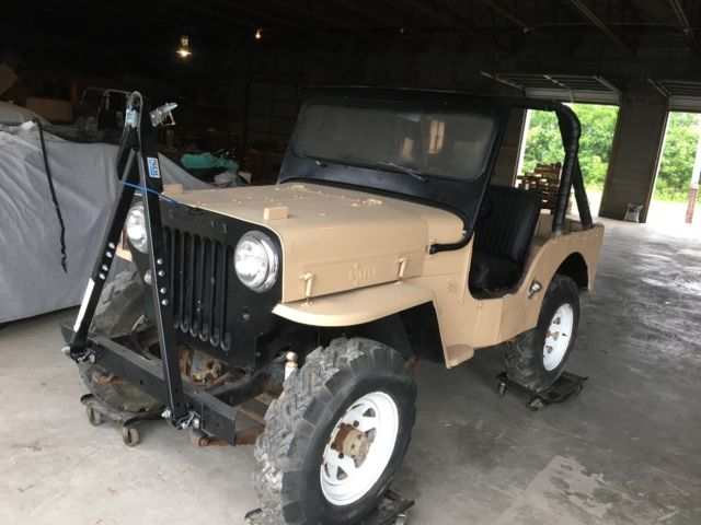 1963 Willys CJ3B Jeep