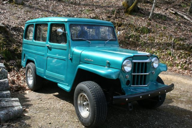 1963 Willys Station Wagon 4WD Custom