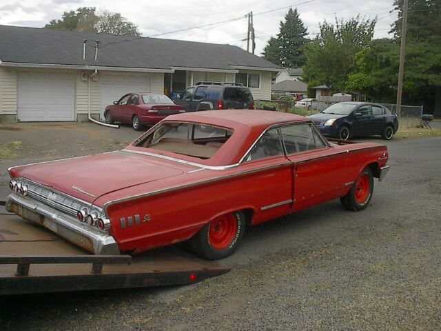 19631 2 Mercury Super Marader S 55 2 Door Ht 425 Hp 427 R Code Fast Back Project For Sale Photos Technical Specifications Description