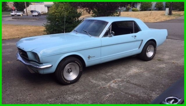 1964 1/2 Ford Mustang Coupe, 289ci V8, 4-Speed Manual