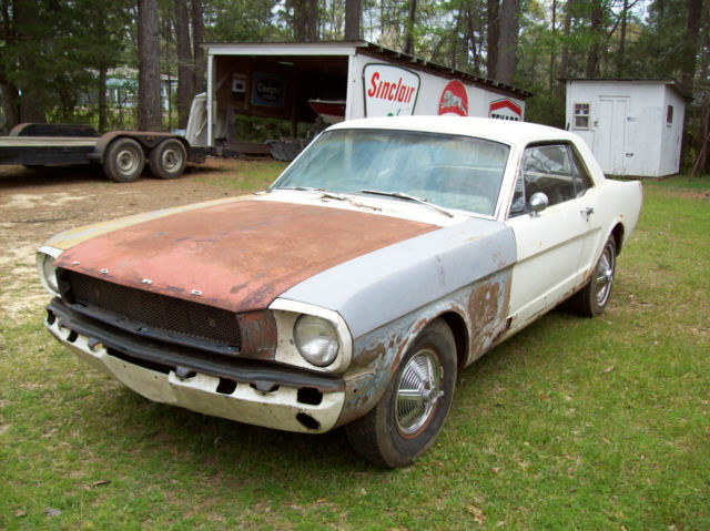 1964 1 2 ford mustang coupe barn find 260 automatic for sale photos technical specifications. Black Bedroom Furniture Sets. Home Design Ideas