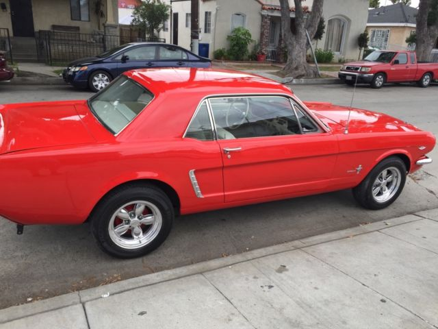 1964 12 FORD MUSTANG HIGH PERFORMANCE VERY RARE D CODE ORIGINAL