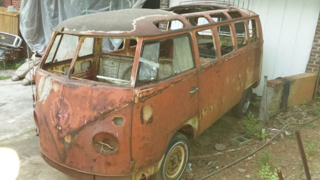 1964 21 window micro bus with m codes plates real 21 for 16 window vw bus for sale