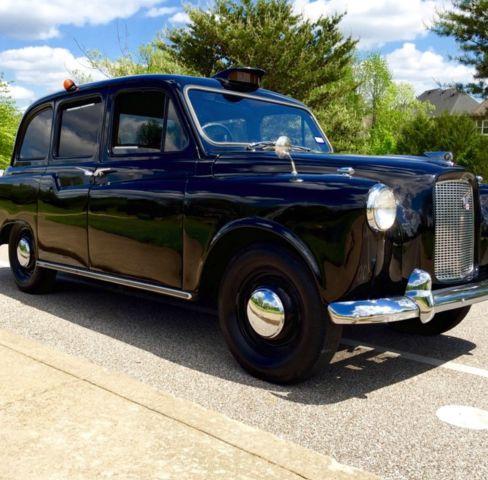 1964 austin fx4 london taxi for sale photos technical specifications description. Black Bedroom Furniture Sets. Home Design Ideas