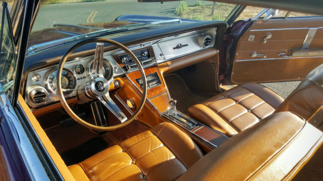 1964 Buick Riviera Burgundy With Saddle Interior For Sale