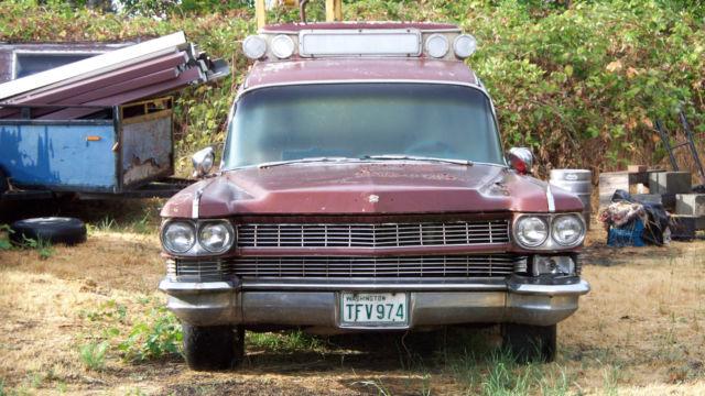 1964 Cadillac Ambulance for sale: photos, technical