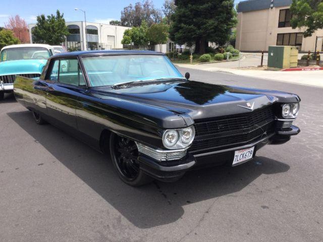 1964 cadillac coupe deville custom california car for. Black Bedroom Furniture Sets. Home Design Ideas
