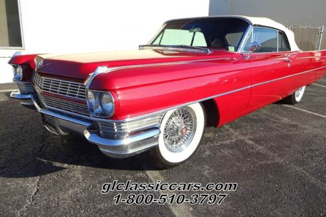 1964 cadillac deville convertible beautiful drop top cruiser low reserve for sale photos. Black Bedroom Furniture Sets. Home Design Ideas