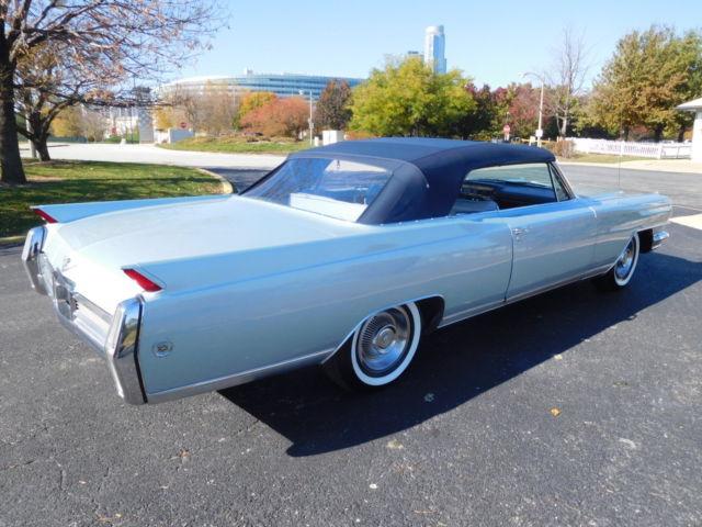 1964 Cadillac Eldorado Convertible Frame Up Restoration